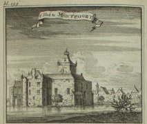 Montfoort, slot, kastelen, oude gravures en landkaarten
