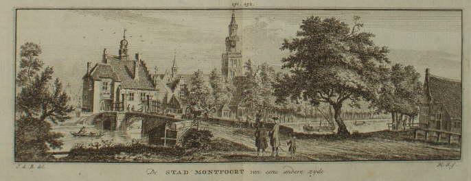 Montfoort, oude gravures en landkaarten
