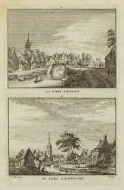 De Meern, linschoten, dorpsgezicht, oude gravures en landkaarten