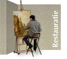 Restaureren van een schilderij