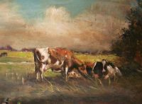 Boogart, Koeien, dieren, platteland