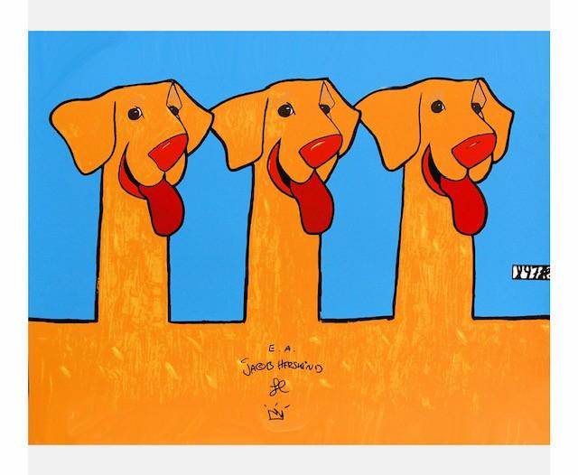Jacob Herskind, dieren, honden