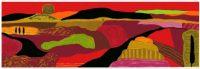 boonacker, Ronald Boonacker, Landschappen, Abstract landschap, heuvellandschap