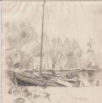 Schilderijen - Water - Zee - Platteland 2
