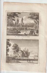 Oude gravures en landkaarten 1